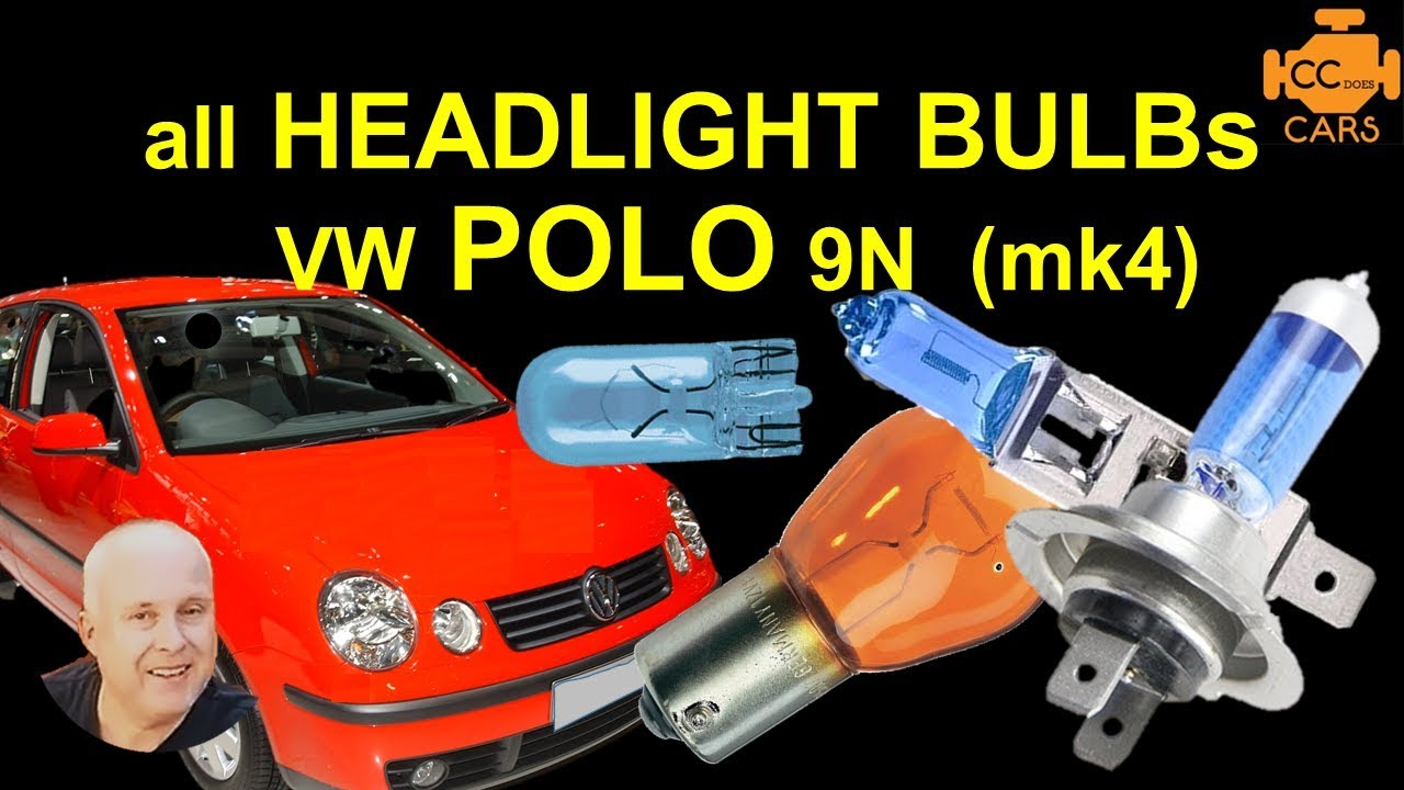 vw polo bulb replacement vw polo 9n light bulbs youtube. Black Bedroom Furniture Sets. Home Design Ideas