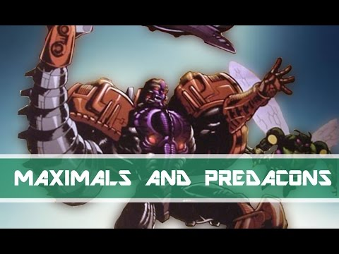 Origin of the Maximals and Predacons | Transformers More Lore #4