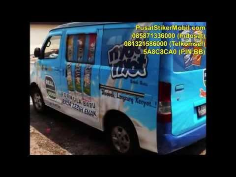 0858 7133 6000 (Indosat), Car branding, Branding Sticker Mobil Bandung, Iklan Stiker Mobil