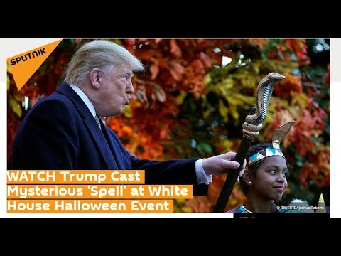 TRUMP Casts SERPENT SPELL On MEDIA! Halloween Antics Or More?