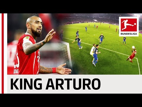 Arturo Vidal - All Goals & Assists 2017/18 So Far ...