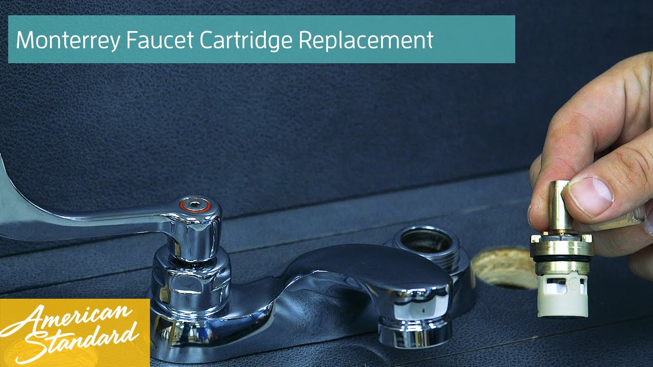 How To Replace The Cartridge For The Monterrey Faucet - YouTube