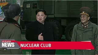 North Korea pushing to have U.S. recognize regime as nuclear power