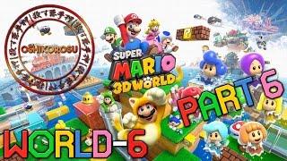 Super Mario 3D World - Let's Play - PART 6 | World 6 100%! 【Nintendo Wii U Gameplay 1080p】