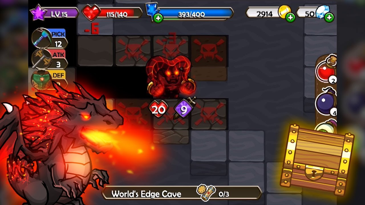 Mine Quest Arcade And Adventure Game For Iphone And