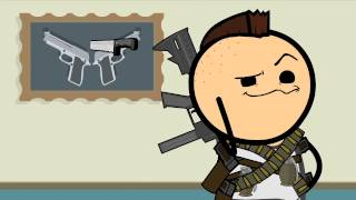 Guns - Cyanide & Happiness Shorts