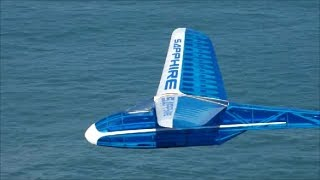 Peter Goldsmith Designs Sapphire glider maiden flight.