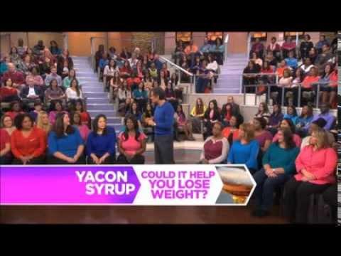 dr oz yacon sirop pierdere în greutate
