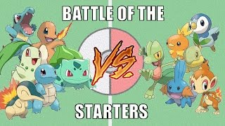Battle of the Starters #1 - Pokémon Battle Revolution (1080p 60fps)