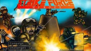 Секретные достижения в игре Strike Force Heroes от Armor Games и Not Dopler