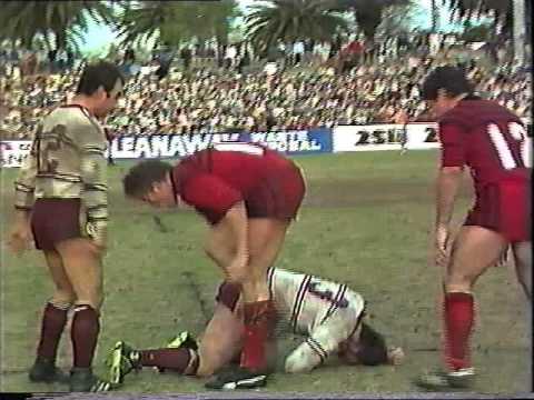 North Sydney Bears V Manly 1982