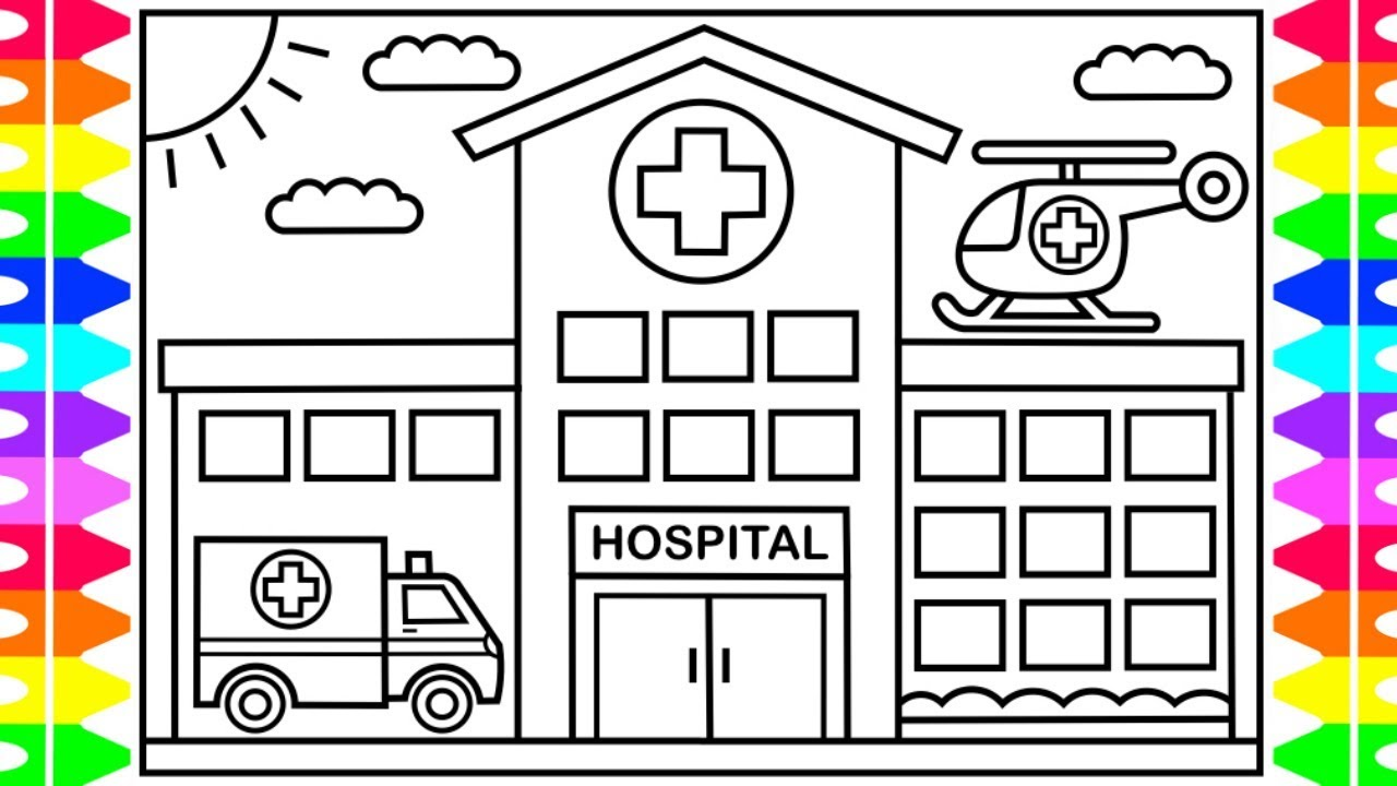 medical coloring pages for children - photo#34