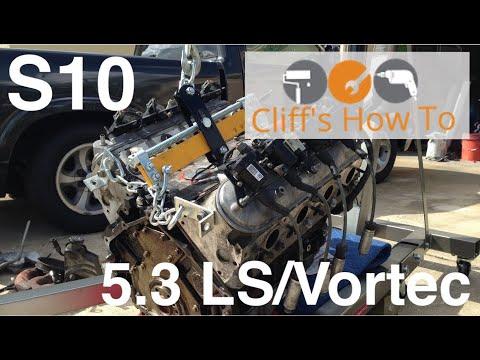 LS S10 V8 Swap Part 12: First Engine Start!!!