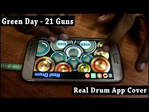 21 Guns - Green Day (Real Drum App Cover) - By Vijay Yadavar