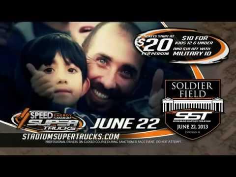 2013 Stadium SUPER Trucks Round #6 Edward Jones Dome St. Louis SST on NBC Broadcast