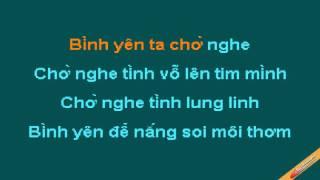 Binh Yen Karaoke - Trần Thu Hà Trần Hiếu - CaoCuongPro