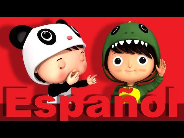 Enrolla la bobina | Canciones infantiles | LittleBabyBum