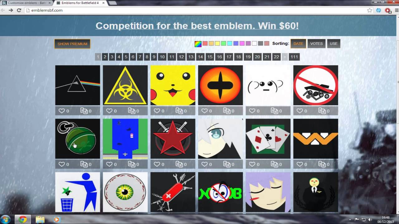 How To Download Battlefield 4 Emblems Easy Then Import Them Into