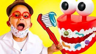 Dentist Song Nursery Rhymes Songs for Kids | Caletha Playtime
