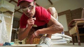 видео Кирпич под старину: как сделать состаренную кирпичную кладку своими руками, состарить стены