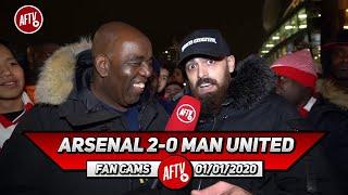 Arsenal 2-0 Man United | Arteta Has Brought In Positivity & Style! (Turkish)