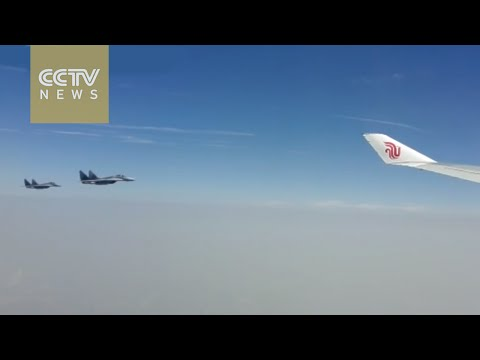 Serbia dispatches fighter jets to escort President Xi's plane