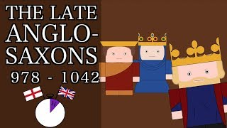 Ten Minute English and British History #07 - The Late Anglo-Saxons and King Cnut