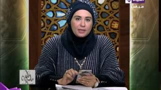 نادية عمارة توضح مشروعية الصلاة في بداية الآذان.. فيديو