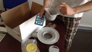 видео душевой трап сухой