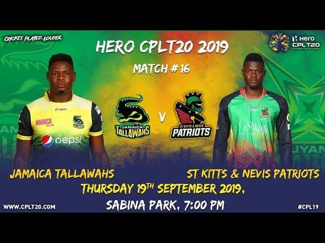 Match 16 Highlights | #JTvSKP | #CPL19