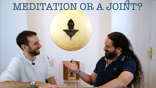 Meditation or a Joint? The Yogveda Podcast. A talk with Kevin Suter teaser.