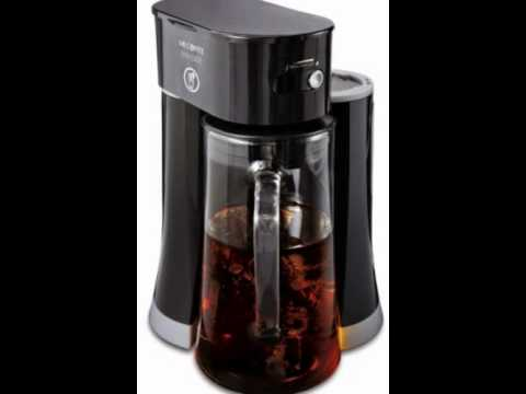 Mr. Coffee BVMC-TM33 Tea Cafe Iced Tea Maker, 1, Black