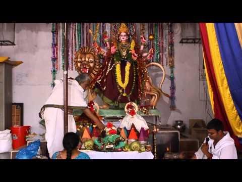 Navratri Durga Puja at Sri Indraprastha Colony Temple (Hyderabad)