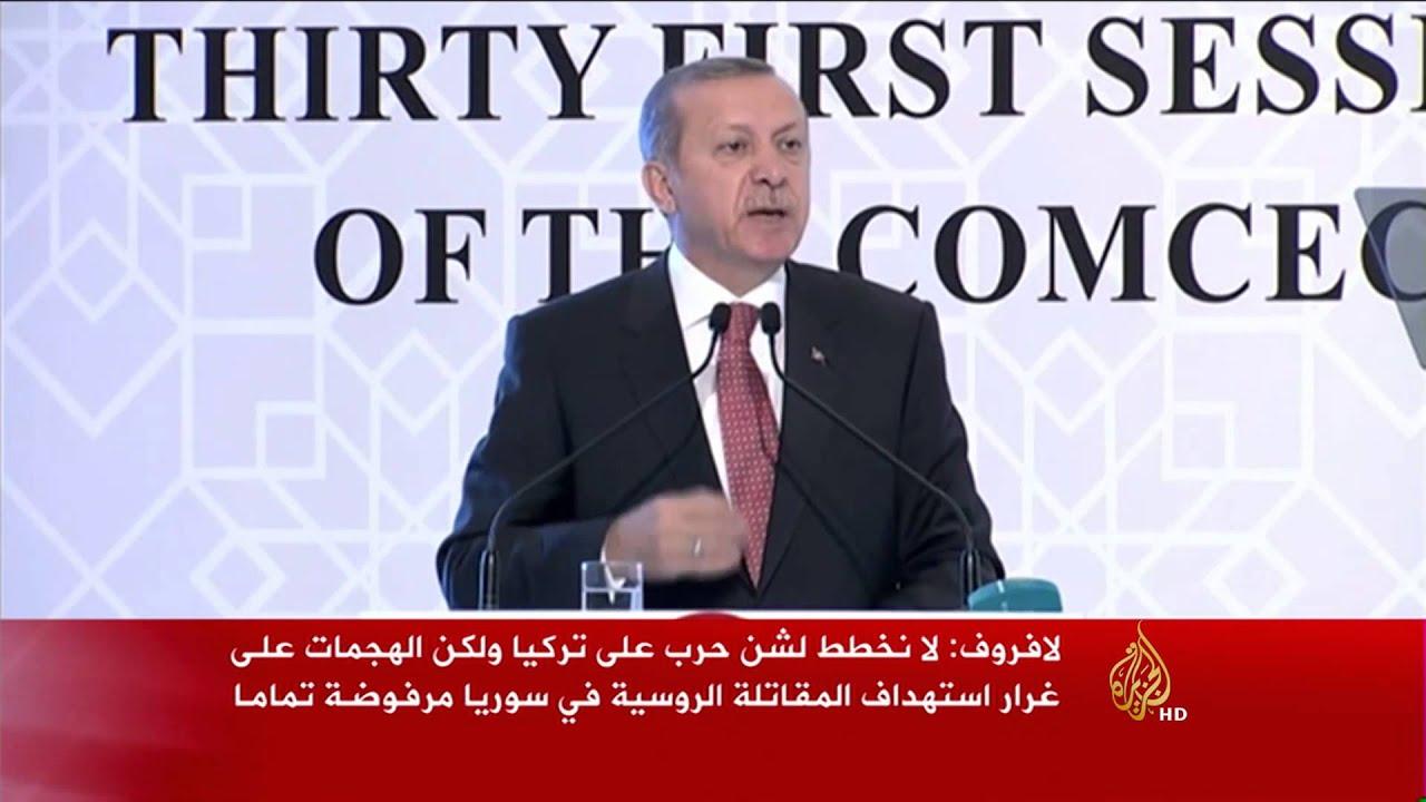 الجزيرة: تواصل تداعيات إسقاط تركيا المقاتلة الروسية