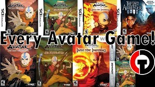 which Avatar Games Are Good? (GBA/DS/Wii) Avatar Game Series Review!