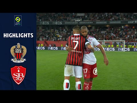 Nice Brest Goals And Highlights