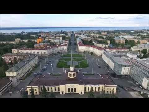 Пролетая над Петрозаводском