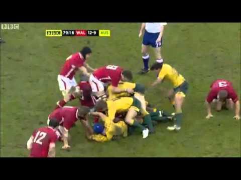 Wallabies v Wales 2012 Highlights
