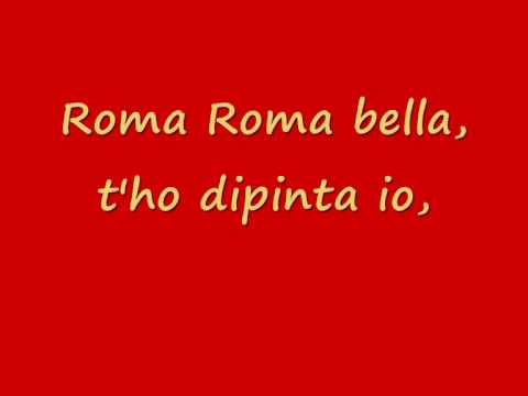 Roma roma roma - Antonello Venditti - Con testo
