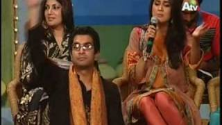 Fiza Ali singing on ATV - EID show - Tappey HQ