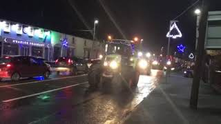 'Drive Into The Dark' tractor run arrives in Ballymahon, Co. Longford