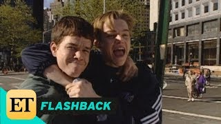 FLASHBACK: Mark Wahlberg and Leonardo DiCaprio Are BFFs on the Set of 'Basketball Diaries' in '94