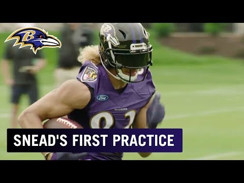 Highlights of Willie Snead's First OTA Practice as a Raven | Baltimore Ravens