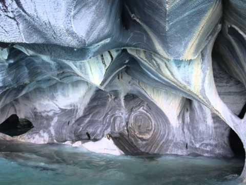 Marble Caves At Lake General Carrera Chile Youtube