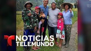 Captaron a los Obamas disfrutando de unas relajadas vacaciones | Noticias | Noticias Telemundo