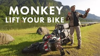 Three Great Ways to Lift a Motorcycle - That you don