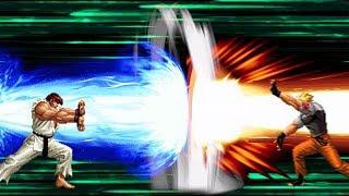 [Street Fighter vs. King of Fighters] Ryu Vs Ryo