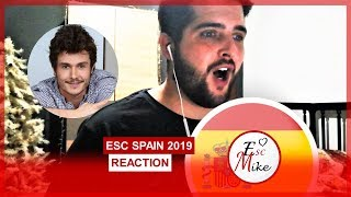 "Eurovision 2019 Spain REACTION [Miki - ""La Venda""]"