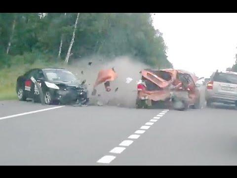 Russian Car crash compilation August week 1