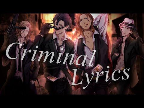 Nightcore - Criminal [Male Version]